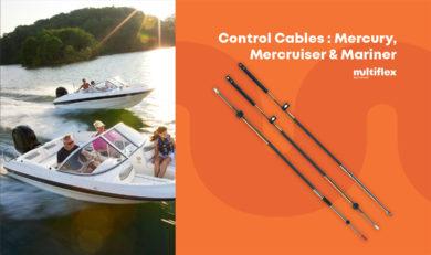 Mercury, Mercruiser & Mariner Control Cables
