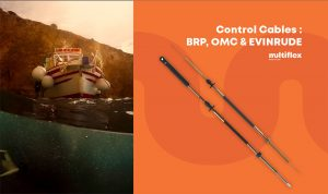 BRP, Evinrude, OMC Control Cables