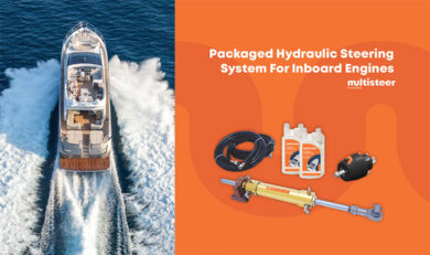 Packaged Hydraulic Steering System : Inboard