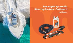 Packaged Hydraulic Steering System : Outboard